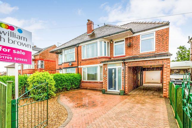 Thumbnail Semi-detached house for sale in East Bawtry Road, Whiston, Rotherham