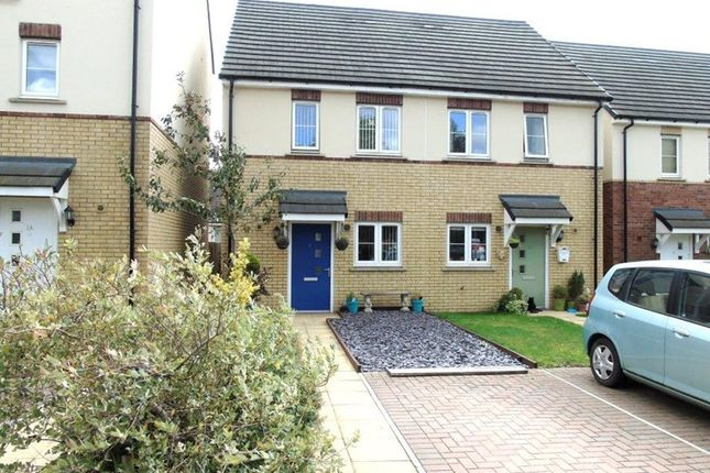 Thumbnail Semi-detached house for sale in Overstreet Green, Lydney, Gloucestershire