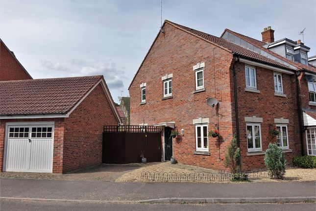 Thumbnail End terrace house for sale in St. Contest Way, Marchwood, Southampton