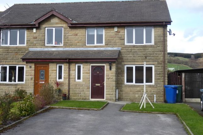 Thumbnail Semi-detached house to rent in Marl Pits, Rawtenstall