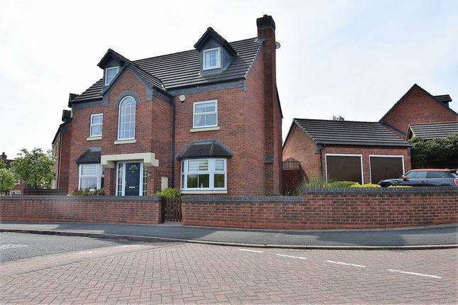 Thumbnail Detached house for sale in 60 Glendale, Lawley Village, Telford
