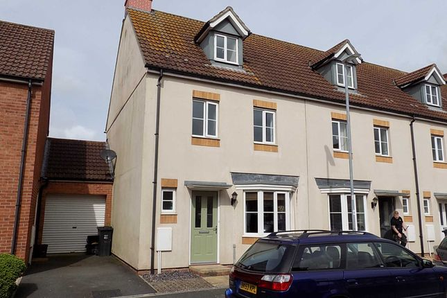Thumbnail End terrace house to rent in Coker Way, Chard