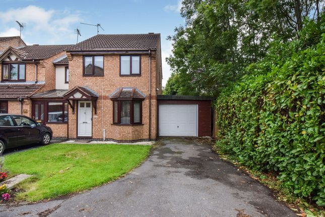 Thumbnail End terrace house for sale in Braymish Close, Kibworth Harcourt, Leicester