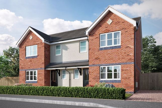 Thumbnail Semi-detached house for sale in Pentywyn Heights, Deganwy, Conwy