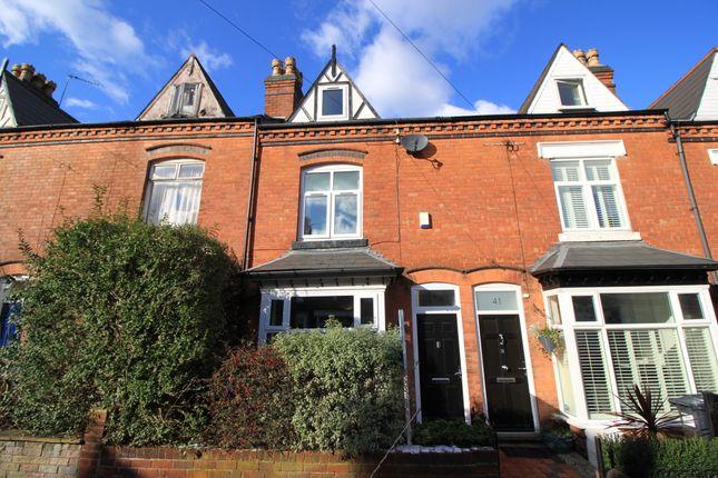 Thumbnail Terraced house for sale in Regent Road, Harborne, Birmingham