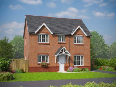 Thumbnail Detached house for sale in Dyserth Road, Rhyl