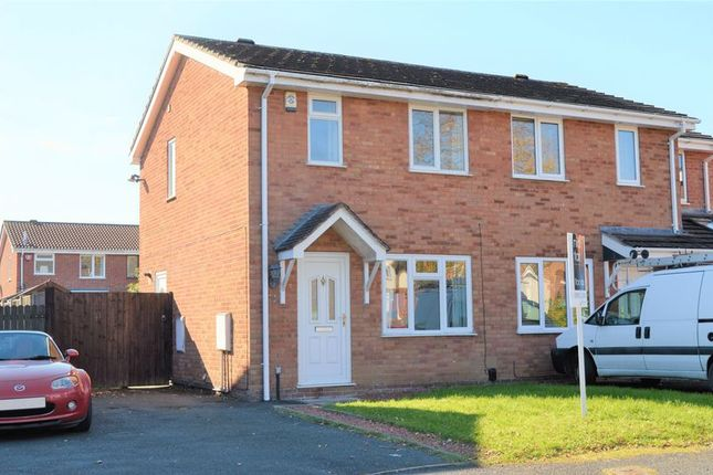 Thumbnail Semi-detached house for sale in Sceptre Close, Aqueduct, Telford, Shropshire.