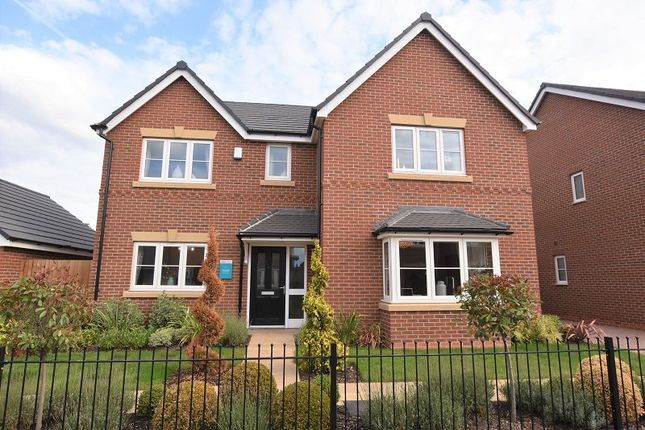 Thumbnail Detached house for sale in The Stamford, Meadow Bank, Off Gateway Avenue, Baldwins Gate, Newcastle