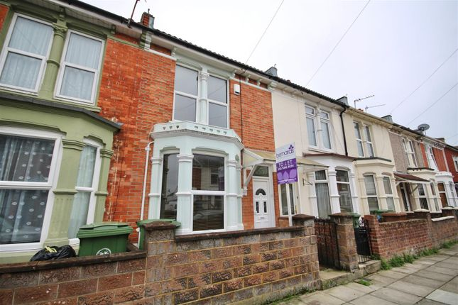 Thumbnail Terraced house to rent in Hollam Road, Southsea