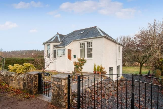 Thumbnail Bungalow for sale in Whitelea Road, Kilmacolm