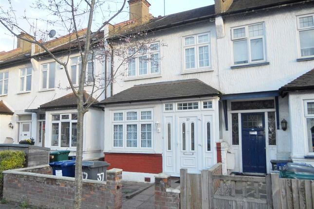 Thumbnail Terraced house to rent in Falkland Avenue, London