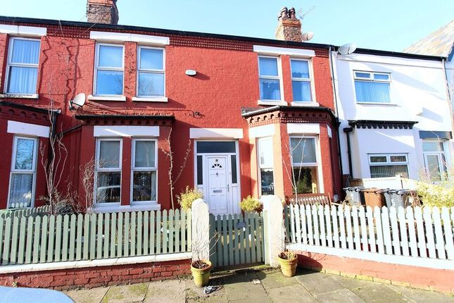 Thumbnail Terraced house for sale in Sandringham Avenue, Waterloo, Liverpool