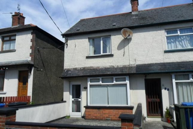 Thumbnail Terraced house to rent in Elmwood Drive, Bangor