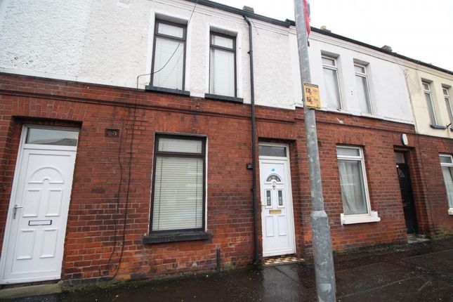 Thumbnail Terraced house to rent in Donegall Avenue, Belfast