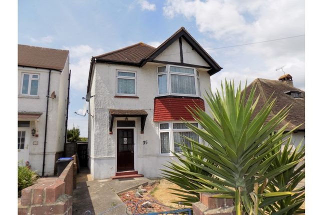 Thumbnail Detached house for sale in Ladydell Road, Worthing