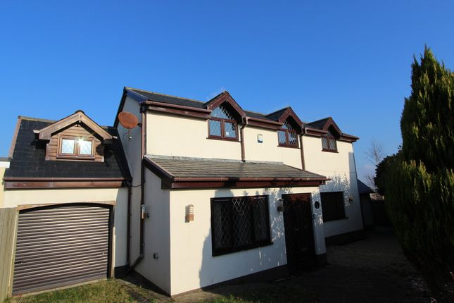 Thumbnail Detached house for sale in Carew Close, Crafthole, Torpoint