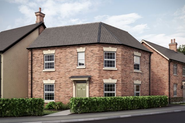 """3 bed end terrace house for sale in """"The Moreley"""" at Butt Lane, Blackfordby, Swadlincote DE11"""