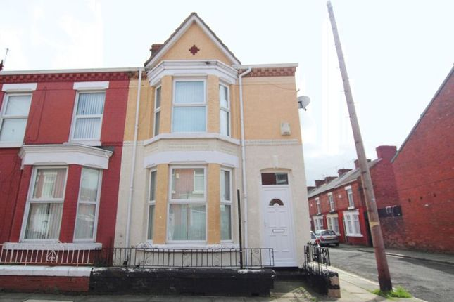 Thumbnail Terraced house for sale in Kempton Road, Wavertre, Liverpool