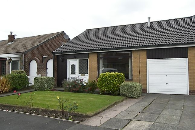 Thumbnail Bungalow to rent in Lingfield Close, Farnworth