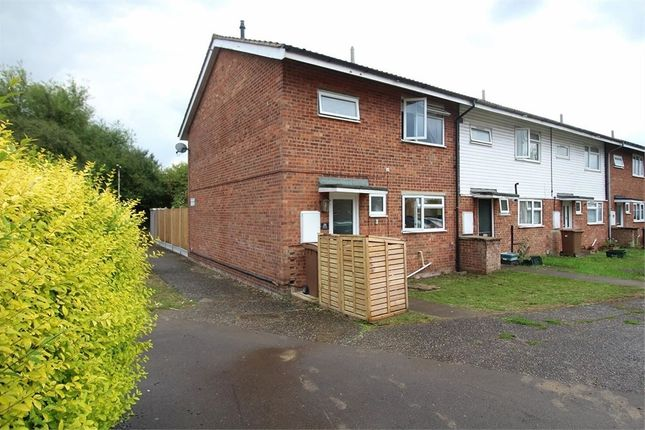 Thumbnail End terrace house for sale in Canberra Close, Chelmsford, Essex