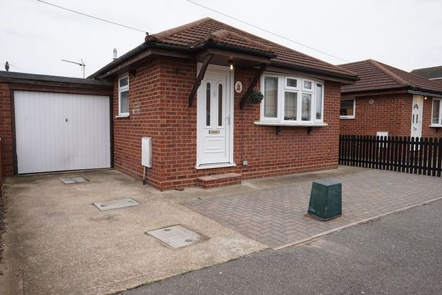 Thumbnail Detached bungalow for sale in Waarden Road, Canvey Island