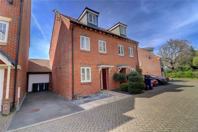 Thumbnail Semi-detached house for sale in Kingshill Drive, High Wycombe, Buckinghamshire