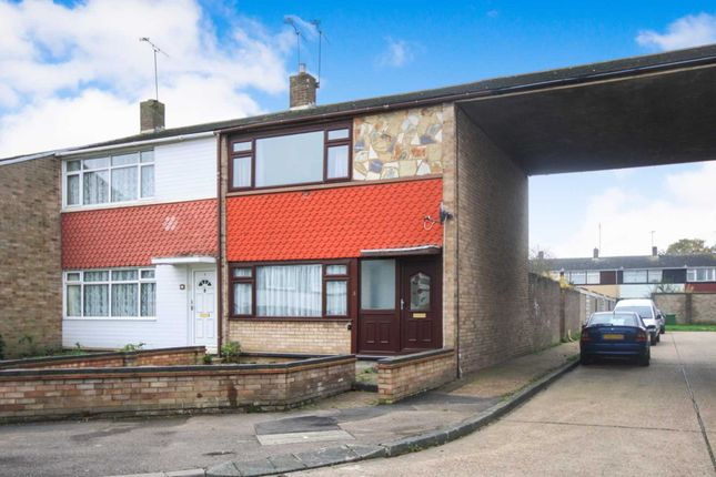 Thumbnail Semi-detached house for sale in Jermayns, Laindon, Basildon