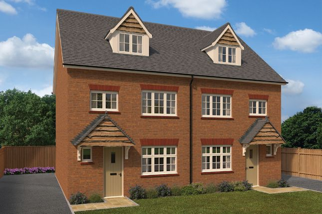 New Home 4 Bed Semi Detached House For Sale In Grantham