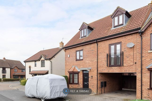4 bed semi-detached house to rent in Edzell Crescent, Westcroft, Milton Keynes MK4