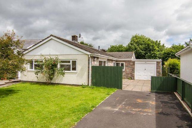 Thumbnail Detached bungalow for sale in Twyn Pandy, Llangynidr, Crickhowell
