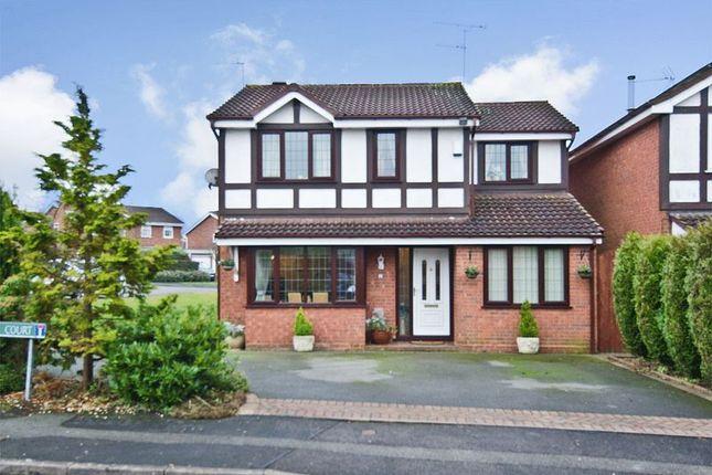 Thumbnail Detached house for sale in Thornbury Court, Perton, Wolverhampton