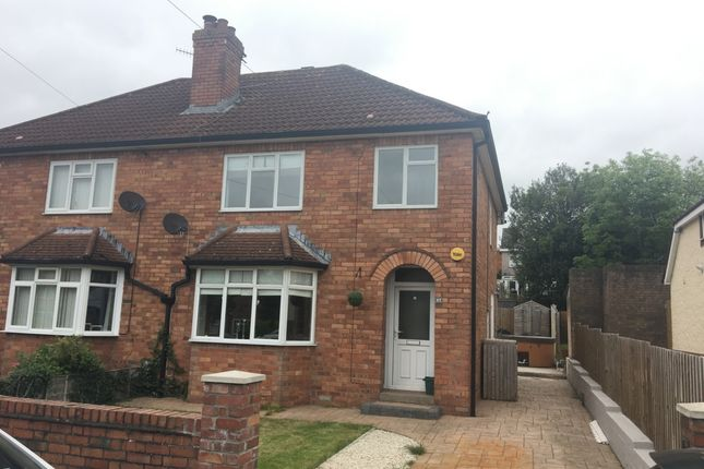 Thumbnail Semi-detached house to rent in Park Avenue, Abergavenny