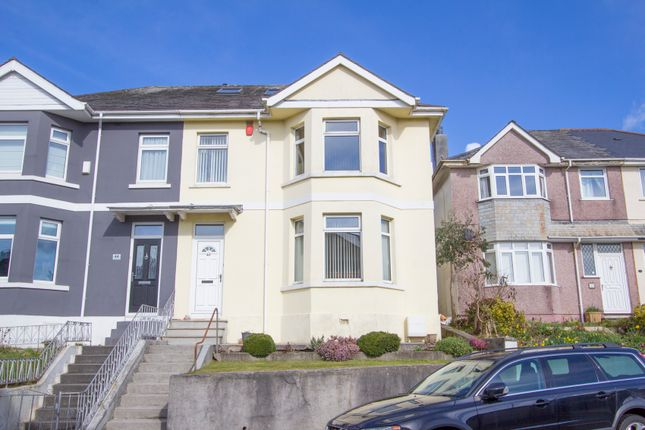 Thumbnail Semi-detached house for sale in Langstone Road, Peverell, Plymouth