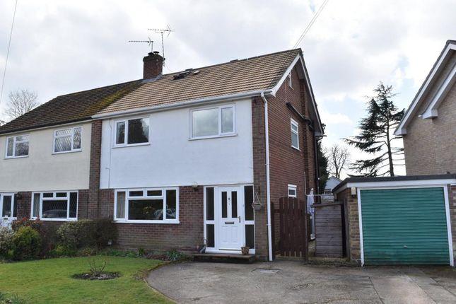 Thumbnail Semi-detached house for sale in Foxhurst Road, Ash Vale