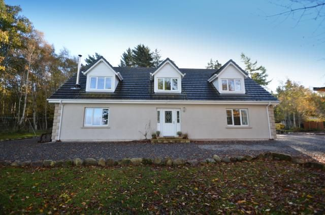Thumbnail Detached house for sale in Struthmore, Wester Galcantray, Cawdor