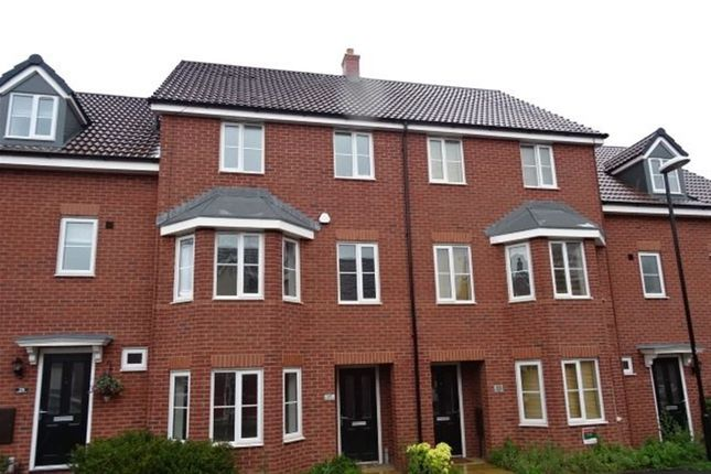 Thumbnail Terraced house to rent in Shropshire Drive, Stoke Village