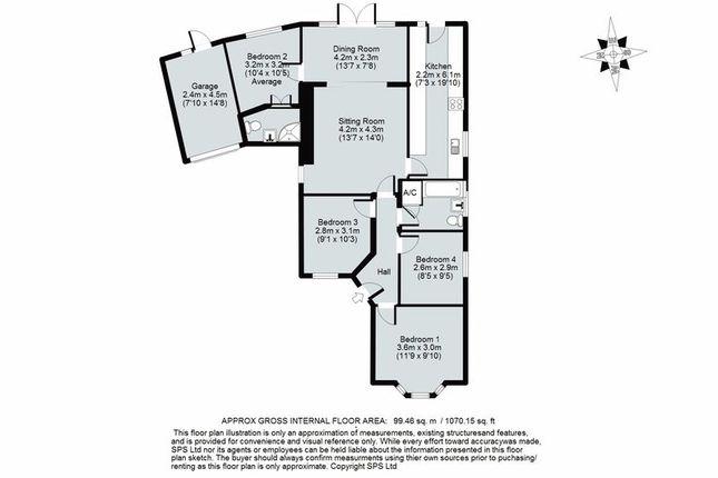 Floor Plan of Dashwood Avenue, Yarnton, Kidlington OX5