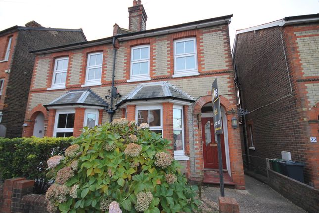 Thumbnail Semi-detached house to rent in Cornfield Road, Reigate, Surrey