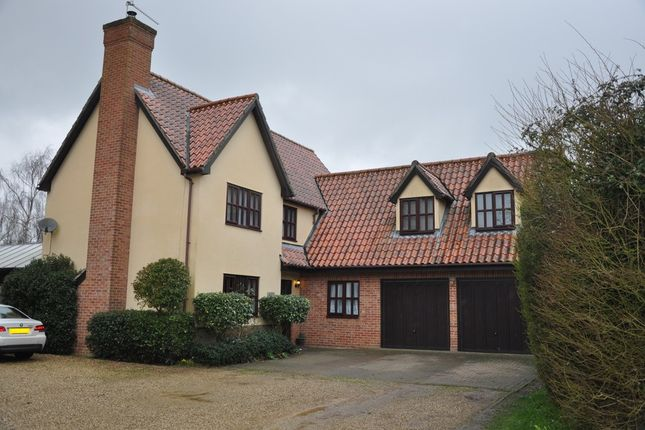 5 bed detached house for sale in Stonham Road, Mickfield, Stowmarket