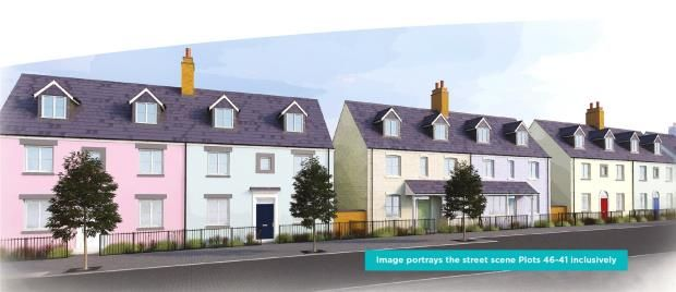 Thumbnail Semi-detached house for sale in Stret Uther Penndragon, Quintrell Road, Newquay, Cornwall