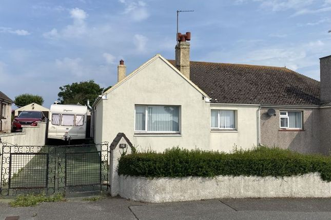 Thumbnail Semi-detached bungalow for sale in Mill Road, Holyhead