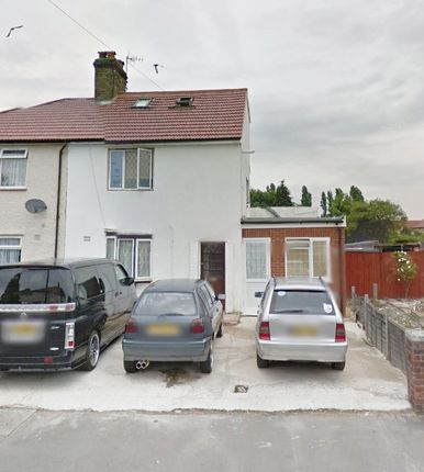 Thumbnail Semi-detached house to rent in East Avenue, Southall, Middlesex