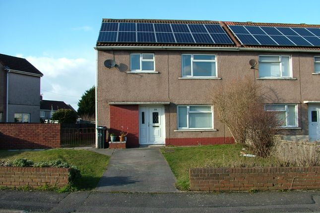 Thumbnail Semi-detached house to rent in Longvue Road, Sandfields