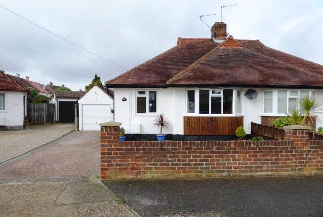 Thumbnail Semi-detached bungalow for sale in Whitehall Crescent, Chessington
