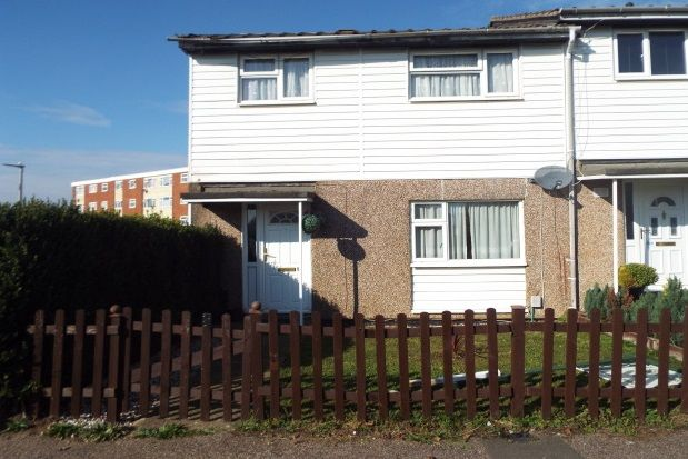 Thumbnail End terrace house to rent in Kyrkeby, Letchworth Garden City