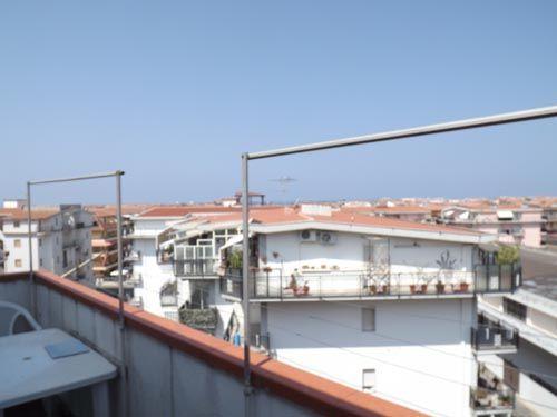 Balcony of Via Pitagora, Scalea, Calabria, Italy