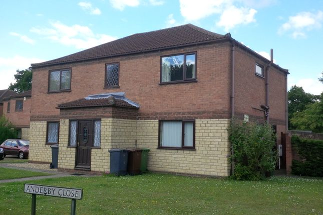 1 bed flat to rent in Anderby Close, Lincoln