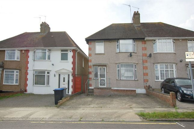 Thumbnail Semi-detached house for sale in St. James Gardens, Wembley
