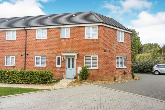 Thumbnail 3 bed semi-detached house for sale in Hillary Close, Peterborough