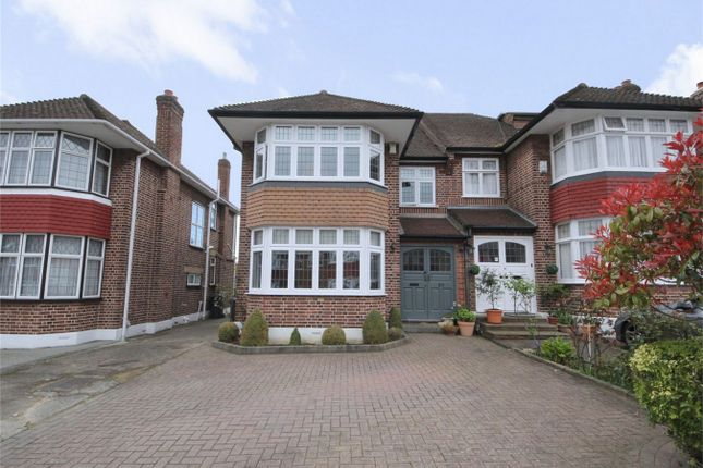 Thumbnail Semi-detached house for sale in Overton Road, London